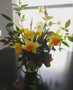 Farmer's Market Floral Arrangement Example